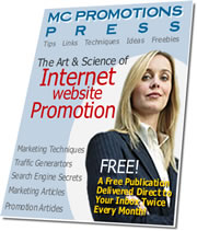 Subscribe to M.C. Promotions Press Ezine